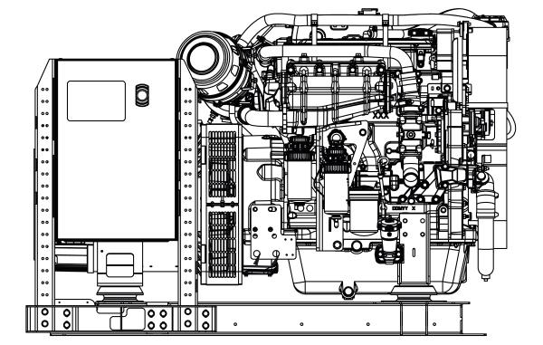 Commercial Marine Generator | ZAJDMG0555HEOU