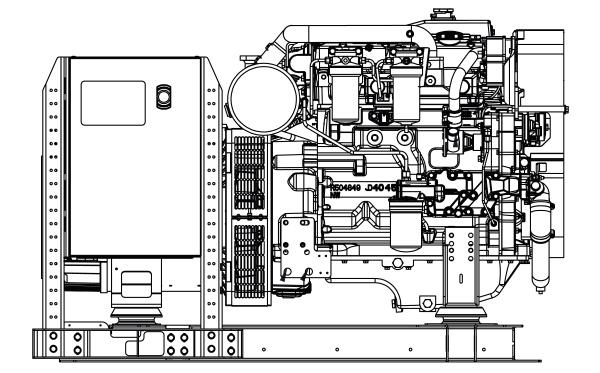 Commercial Marine Generator | ZAJDMG0805HEOU