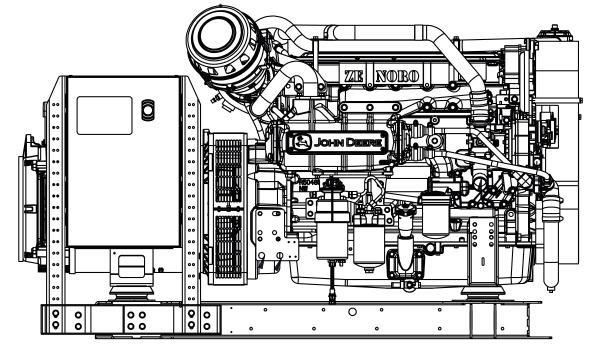 Commercial Marine Generator | ZAJDMG1185HEOU