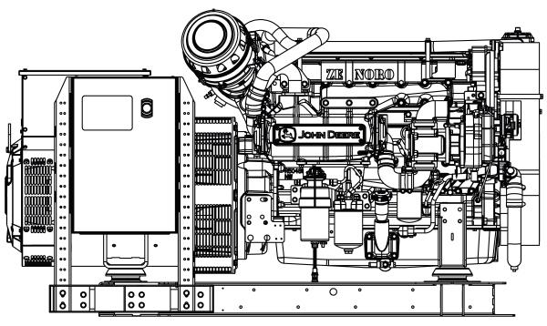 Commercial Marine Generator | ZAJDMG1505HEOU