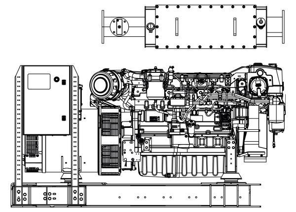 Commercial Marine Generator | ZAJDMG1755HEOU