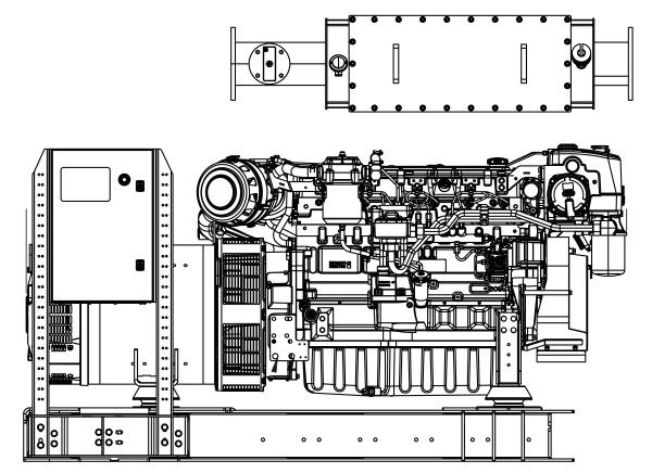 Commercial Marine Generator | ZAJDMG2005HEOU