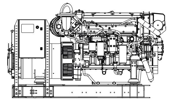 Commercial Marine Generator | ZAJDMG2505HEOU
