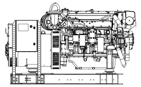 Commercial Marine Generator | ZAJDMG3005HEOU